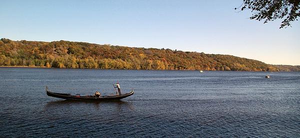 Gondola, St. Croix River, Stillwater, MN