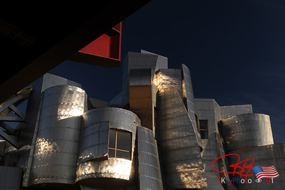 Frank Gehry designed museum on the campus of the University of Minnesota, Minneapolis.