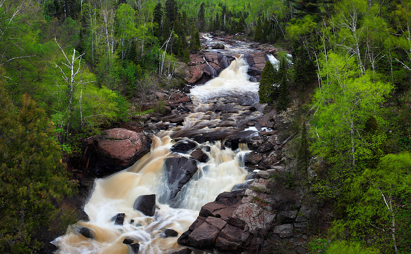 Spring to Action - Beaver River Falls (North Shore - Minnesota)