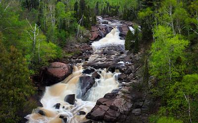 Spring to Action - Beaver River Falls (North Shore - Minnesota)