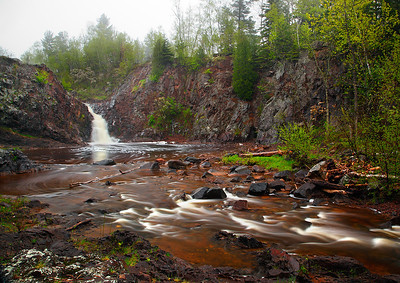 First To Flow - The Shallows Falls (Duluth, Minnesota)