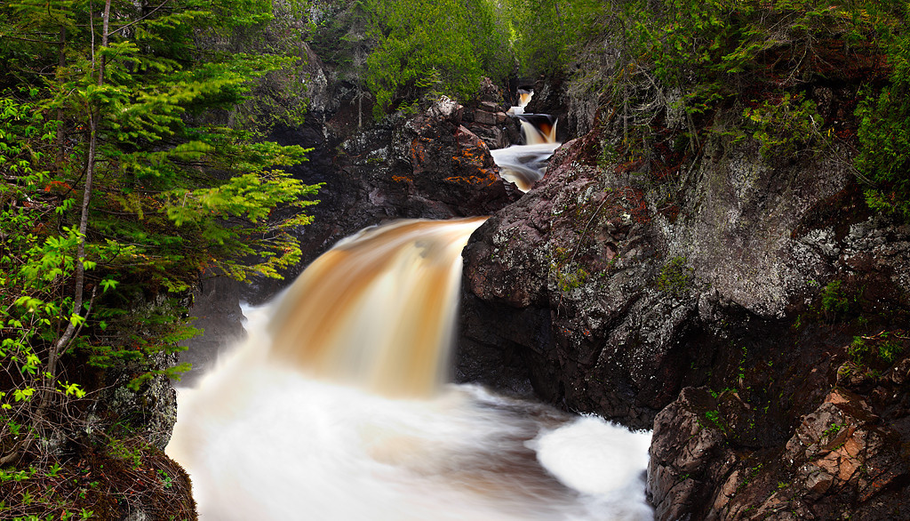 Stained Spring II - The Cascades (Cascade River State Park - Minnesota)
