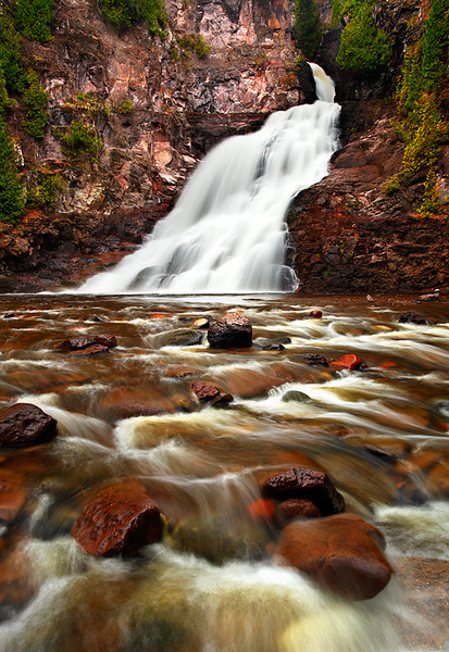 Standing Within - Caribou Falls (Caribou Falls State Wayside - Minnesota)
