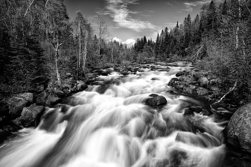 Where The River Flows - Poplar River (North Shore - Minnesota)