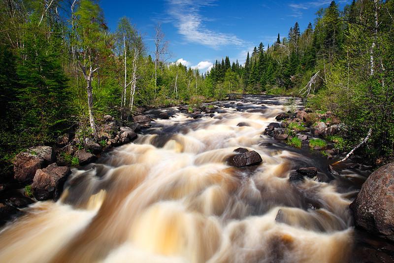 Where The River Flows - Poplar River (North Shore - Minnesota)