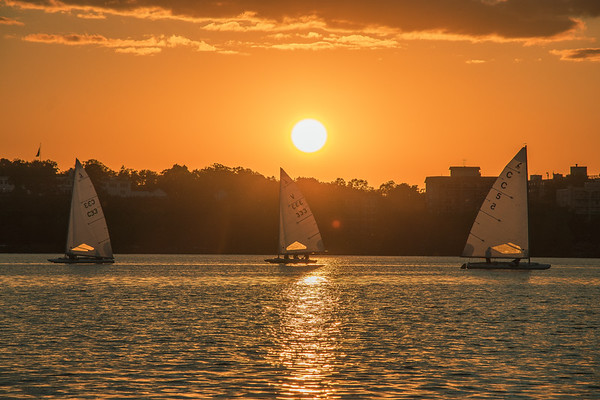 Sailing Trio On Bde Maka Ska
