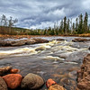 Swift Currents & Stormy Skies - Temperance River