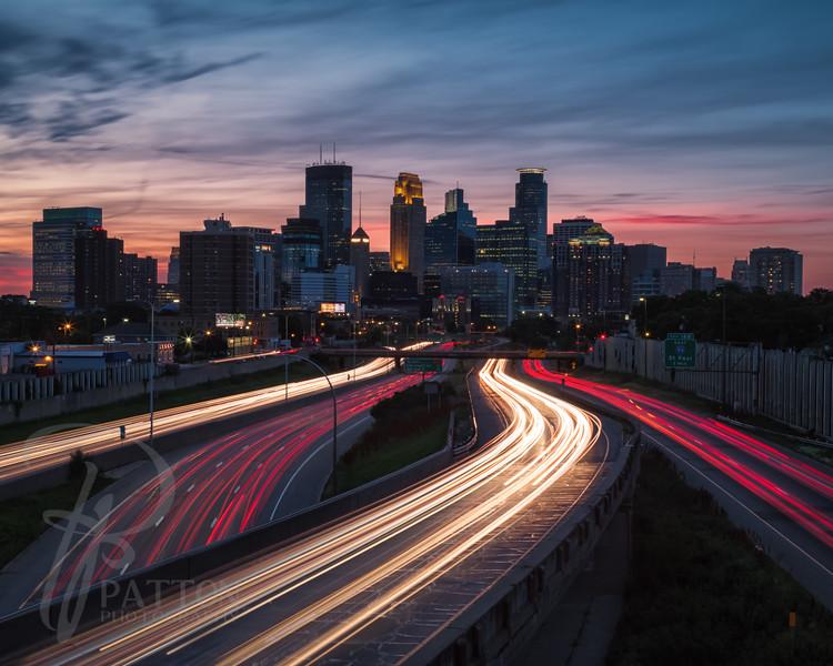 Trailing Minneapolis