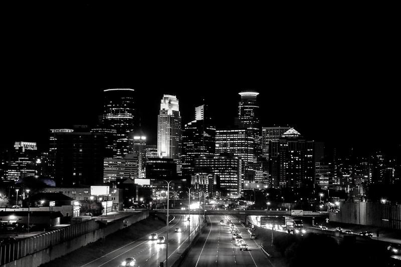 Black & White Minneapolis