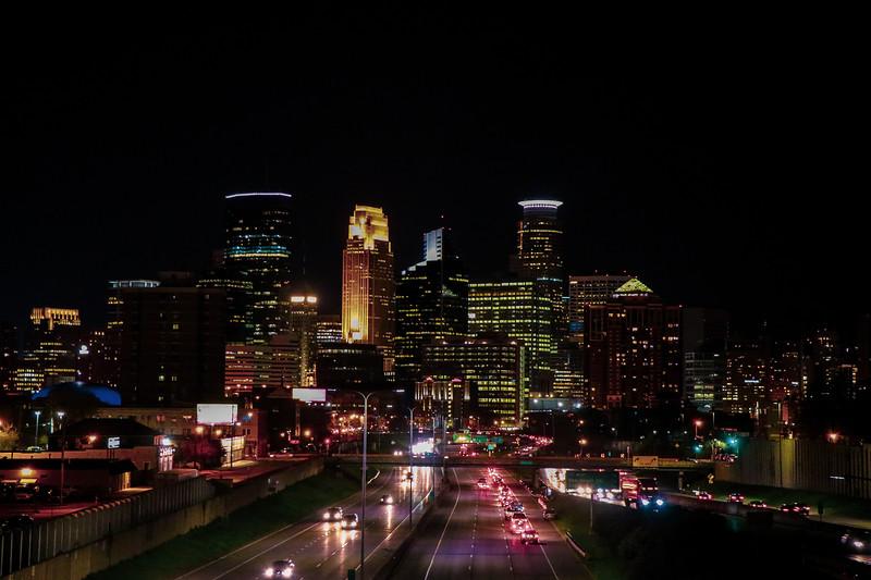 Warm Night in Minneapolis
