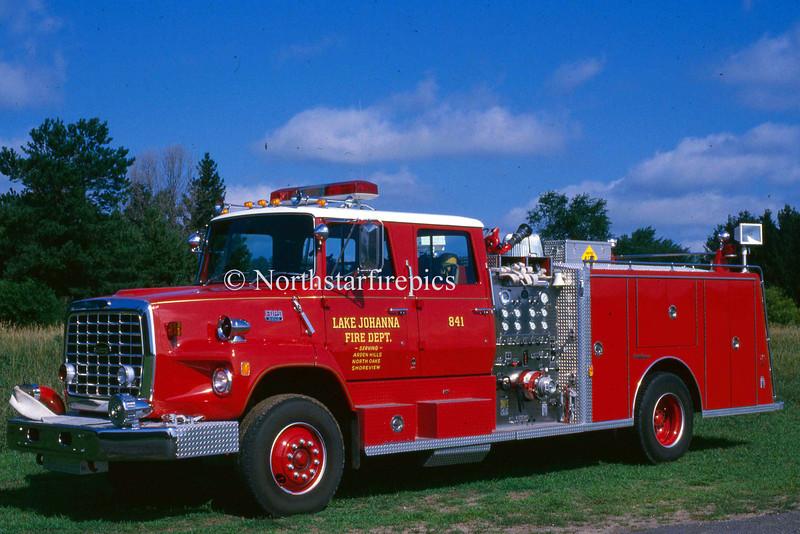 Lake Johanna E-841 325  1981 Ford L/General Safety 1250/500