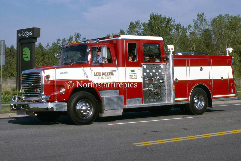 Lake Johanna E-762   1989 Ford L 9000/General Safety  1250/500