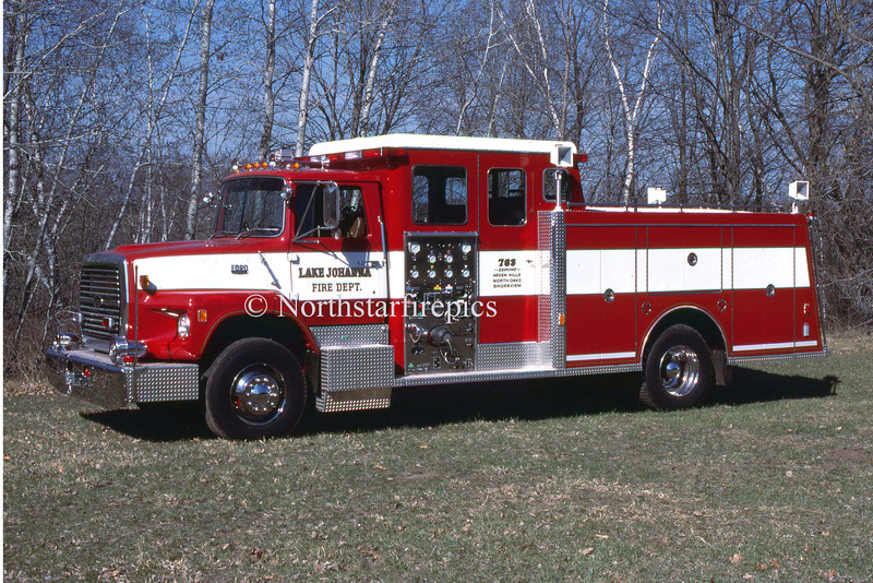 Lake Johanna E-763  1985 Ford L 9000/General Safety  1250/500<br /> 2001 Refurb