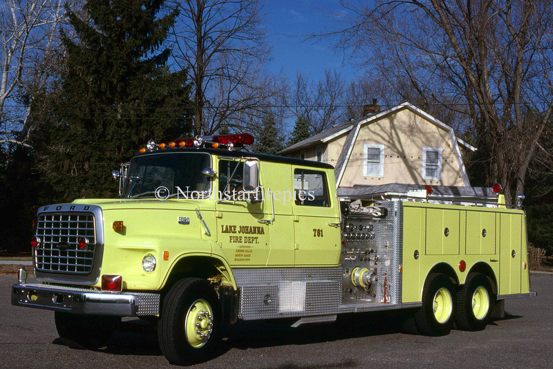 Lake Johanna E-761  1983 Ford L/General safety  1250/1500