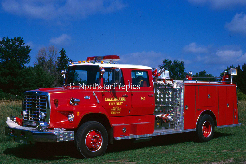 Lake Johanna E-840 221   1981 Ford L/General Safety 1250/500