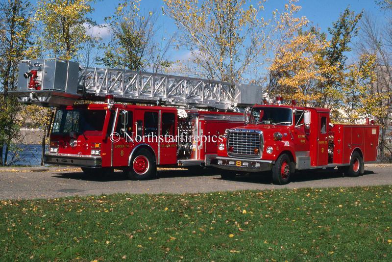 St. Paul Engine & Ladder 8 1985
