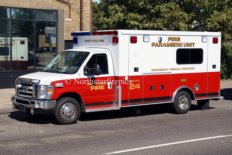 St Paul M-24<br /> 2008 Ford E-450/Road Rescue