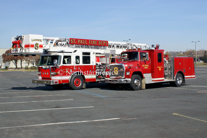 St. Paul Engine  & Ladder 8 2006