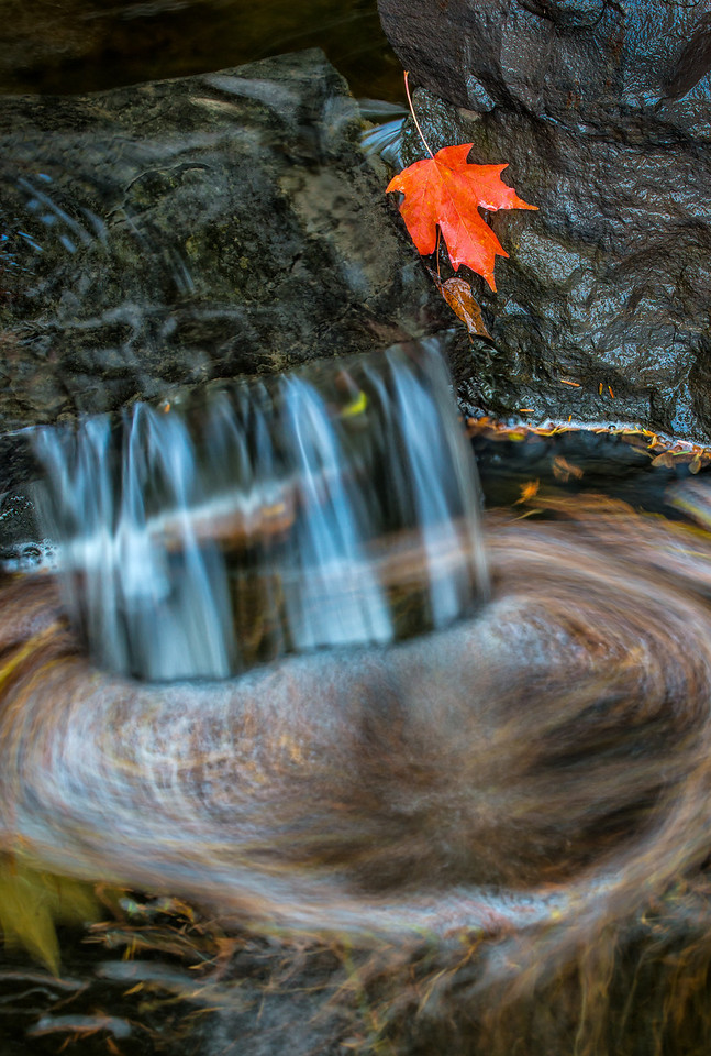 Water Falls near the Berens Cabin.