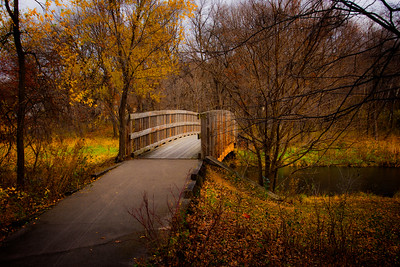 Minnetonka Civic Center Park  -  Bridge over Minnehaha Creek