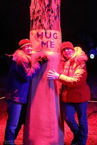 Hug A Tree - Morton Arboretum Illumination 2019