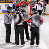 Officials at Centre Ice