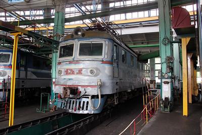 ChS2 462 at Kharkov October Depot on 2nd May 2010