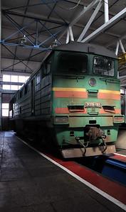 2TE116 116A at Kharkov Osnova Depot on 2nd May 2010