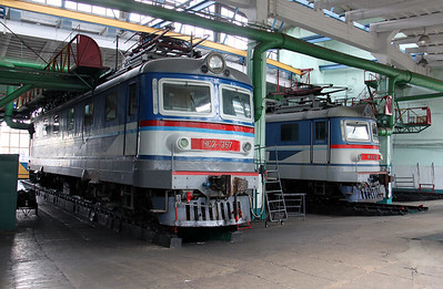 Chs2 357 at Kharkov October Depot on 2nd May 2010 (3)