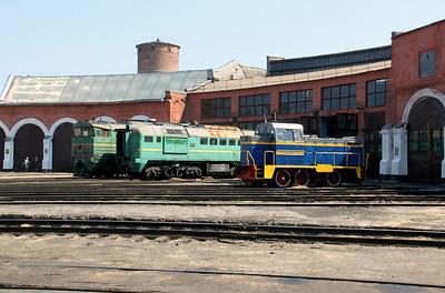 Kharkov Osnova Depot on 2nd May 2010