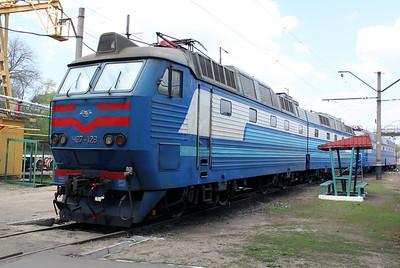Chs7 128 at Kharkov October Depot on 2nd May 2010