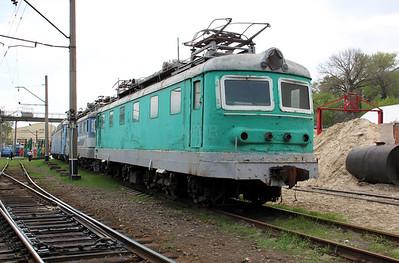 ChS2 754 at Kharkov October Depot on 2nd May 2010 (2)