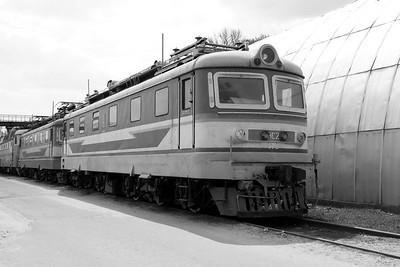 ChS2 410 at Kharkov October Depot on 2nd May 2010