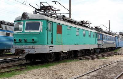 ChS2 754 at Kharkov October Depot on 2nd May 2010