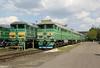 2TE116 1100 & 2TE116 1172 at Pologi Depot on 7th May 2010 (3)