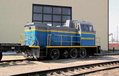 TGM23V48 2508 at Kharkov Osnova Depot on 2nd May 2010 (2)