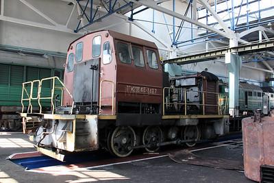 TGM23V 1487 at Kharkov Osnova Depot on 2nd May 2010
