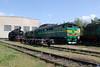 2TE116 1140A at Pologi Depot on 7th May 2010 (3)