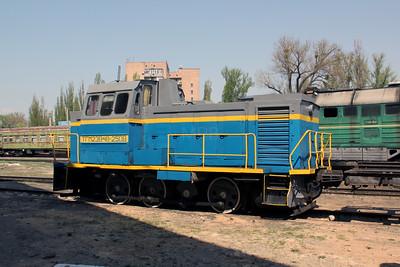 TGM23V48 2508 at Kharkov Osnova Depot on 2nd May 2010 (4)