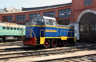 TGM23 1002 at Kharkov Osnova Depot on 2nd May 2010
