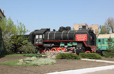 steam, SO17 2327 at Kharkov Osnova Depot on 2nd May 2010