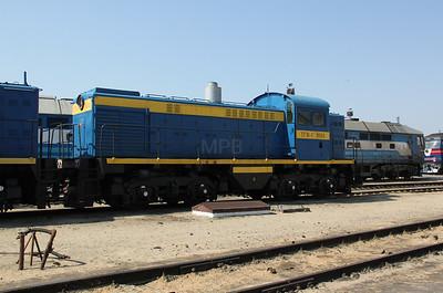 TGM4 1060 at Kharkov Osnova Depot on 2nd May 2010