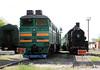 2TE116 1517A at Pologi Depot on 7th May 2010