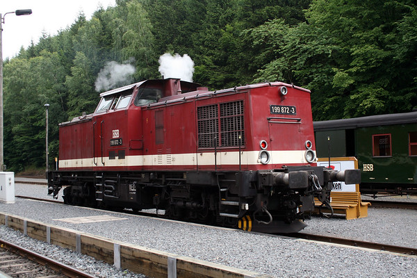 Railtrail railtours - German Harz Mountains July 2008
