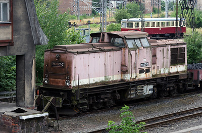 HSB, 199 877 at Nordhausen on 10th July 2008