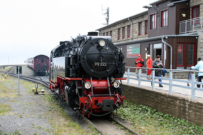 99 222 at Brocken on 9th July 2008 (1)