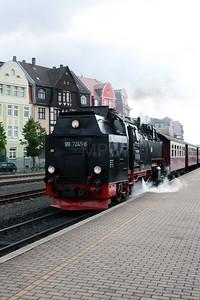 99 7245 at Nordhausen Nord on 9th July 2008 (2)