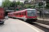 DB, 628 702 at Schaffhausen on 19th June 2006