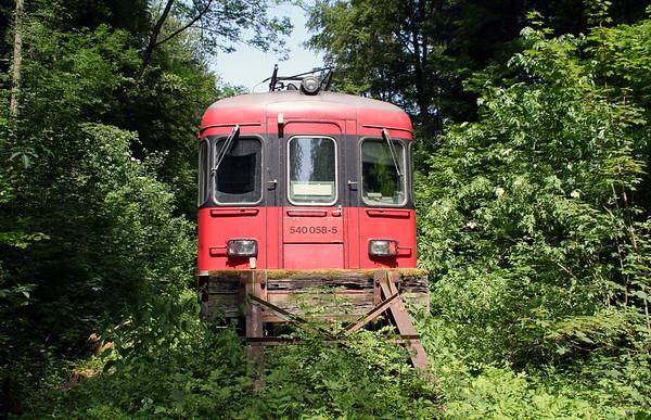 SBB Railtour : Swiss Branch lines tour June 2006