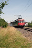 1) 540 058 at Romanshorn VL (avoiding line) on 19th June 2006 working railtour